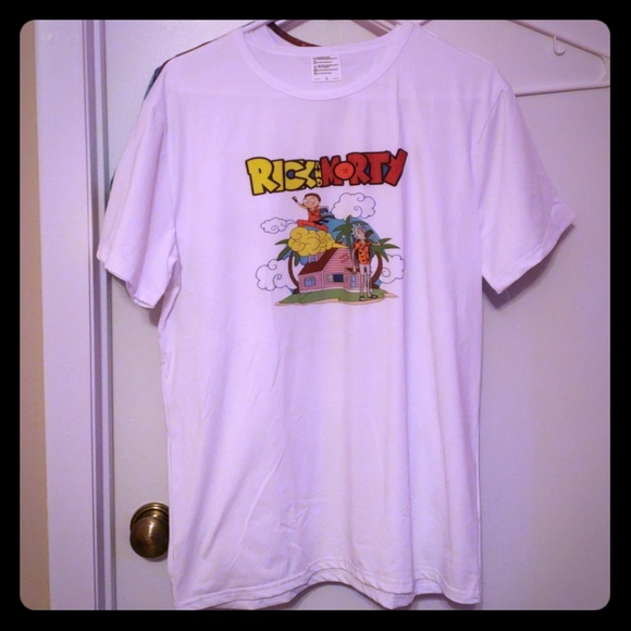 076283e5 Shirts | Nwt Rick And Morty Dragon Ball Mashup Tshirt | Poshmark